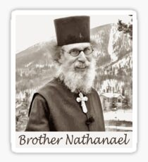 Brother Nathanael. Sticker