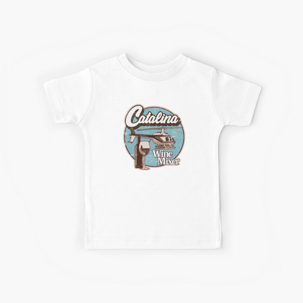 Catalina Wein Mixer. Kinder T-Shirt
