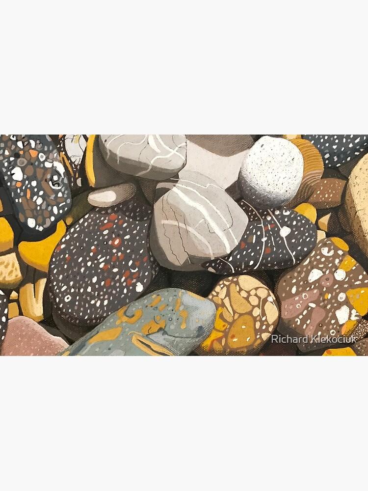Mersey River (Tasmania) Stones. by artkleko