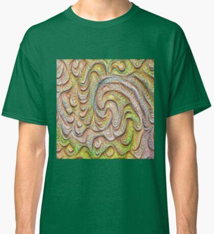 Frozen spring wave #DeepDream #Art | Sasalusais pavasara vilnis Classic T-Shirt