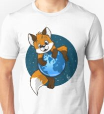 Cute Firefox Slim Fit T-Shirt