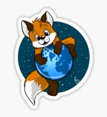 Cute Firefox Sticker