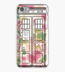 Rose TARDIS iPhone Case/Skin