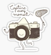 capture every moment Sticker