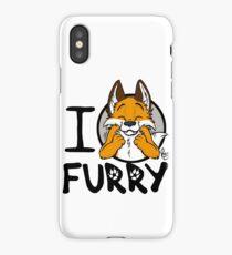 I grrarrrgh furry (fox version) iPhone Case/Skin