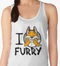 I grrarrrgh furry (fox version) Women's Tank Top
