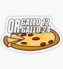 Gallo 12 or Gallo 24? Sticker