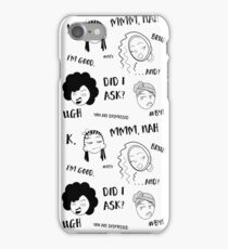 Guess Who Isn't Interested? iPhone Case/Skin