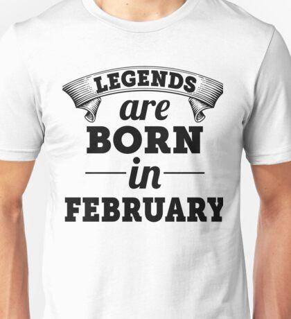 Born In February Unisex T-Shirt