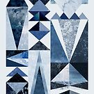 Blue Shapes by Mareike Böhmer
