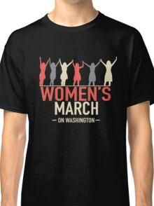WOMEN'S MARCH  Classic T-Shirt