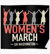WOMEN'S MARCH  Poster