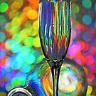 Bottle and glass by ikshvaku