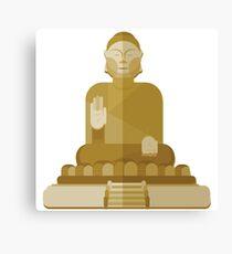 Inner Peace is Inner Strength, Buddha Canvas Print