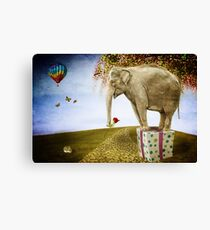 Good things don't always come in small packages Canvas Print