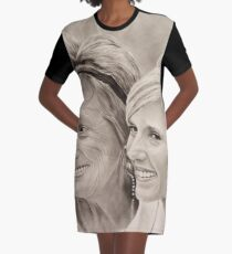 """Bride and mother"" Graphic T-Shirt Dress"