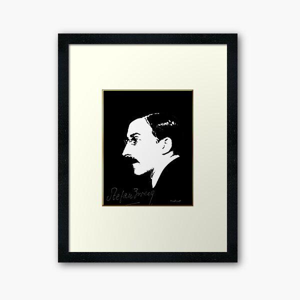 Stefan Zweig Framed Art Print
