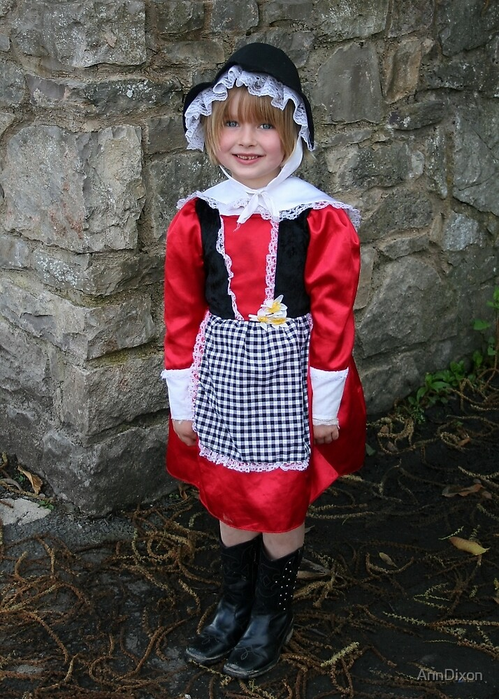 Cute Little Welsh Girl by AnnDixon