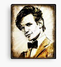 Matt Smith Dr Who Canvas Print