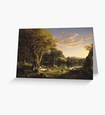 Thomas Cole (American, ). A Pic-Nic Party,  Greeting Card