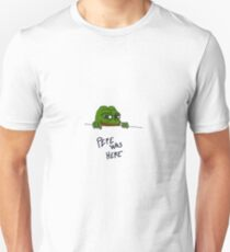 Rare Pepe - Pepe Was Here Edition Unisex T-Shirt