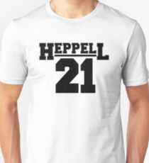 Heppell 21 College Text T-Shirt
