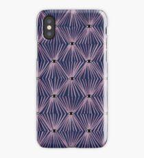 Eyes on You (navy) iPhone Case/Skin