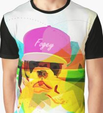 Fogey - The British Bulldog who lives in LA Graphic T-Shirt