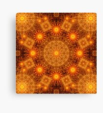 The Divine Matrix Mandala Canvas Print