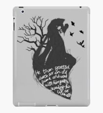 The tale of who must no be named iPad Case/Skin