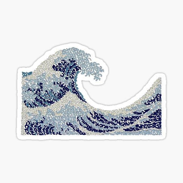 """""""The Wave"""" of Hokusai Sticker"""