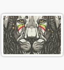 Lion Reggea Sticker