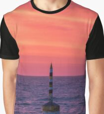 Cottesloe Beach Sunset Graphic T-Shirt