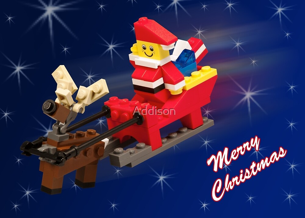 Santa is on His Way! by Addison