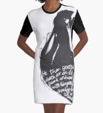 The tale of who must no be named - alt Graphic T-Shirt Dress