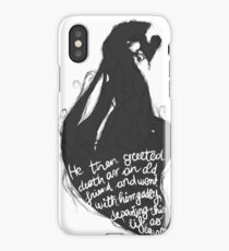 The tale of who must no be named - alt iPhone Case/Skin