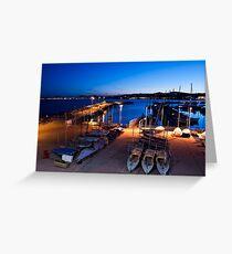 Torbay at Night Greeting Card