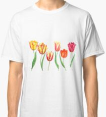 colorful tulips  Classic T-Shirt