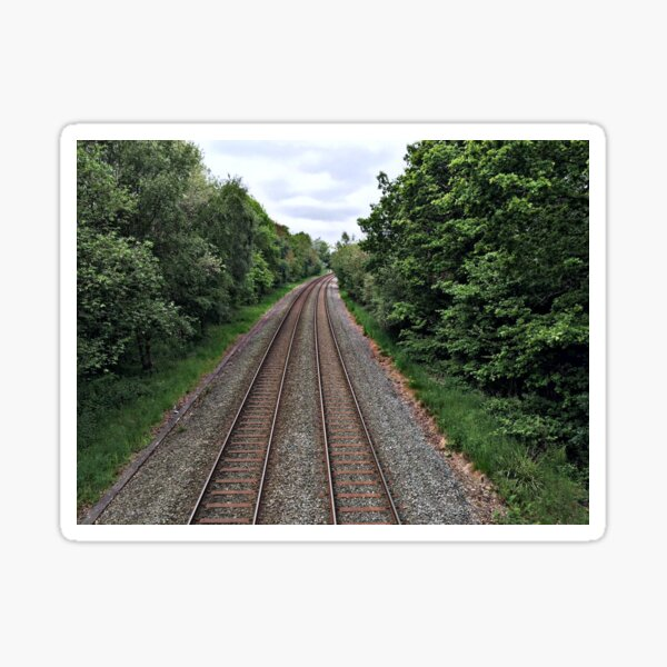 Train in the distance Sticker