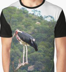 Marabou Stork Graphic T-Shirt