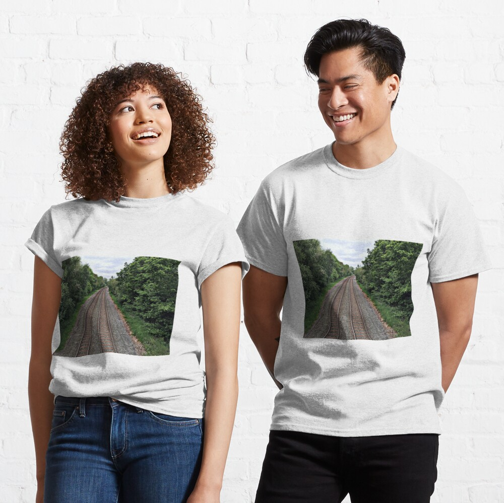 Train in the distance Classic T-Shirt