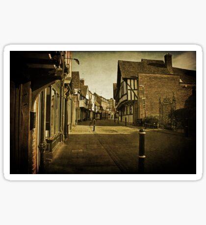 Greyfriars, Worcester Sticker