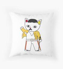 FreddieMeow 2 Throw Pillow