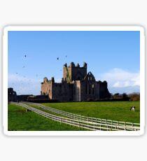 Dunbrody Abbey, County Wexford, Ireland Sticker