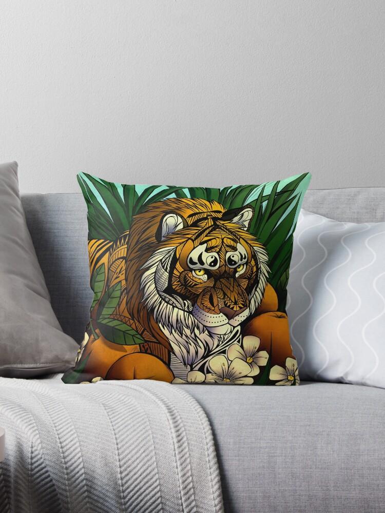 «Tigre de flor de naranja» de Illustratorz
