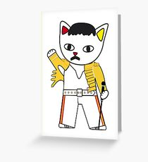 FreddieMeow 2 Greeting Card