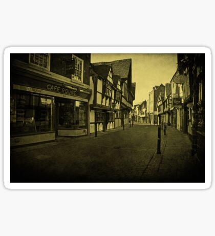 Friar Street, Worcester Sticker