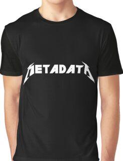 Metadata Graphic T-Shirt