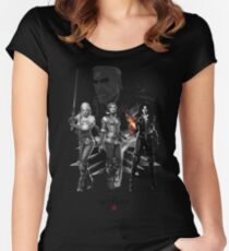 The Witcher 3 Characters Women's Fitted Scoop T-Shirt