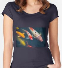 Fish Women's Fitted Scoop T-Shirt
